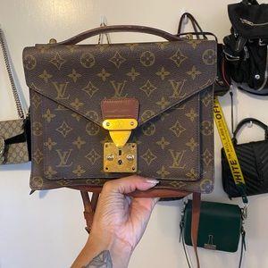 Louis Vuitton MONCEAU 26 vintage bag *as is*